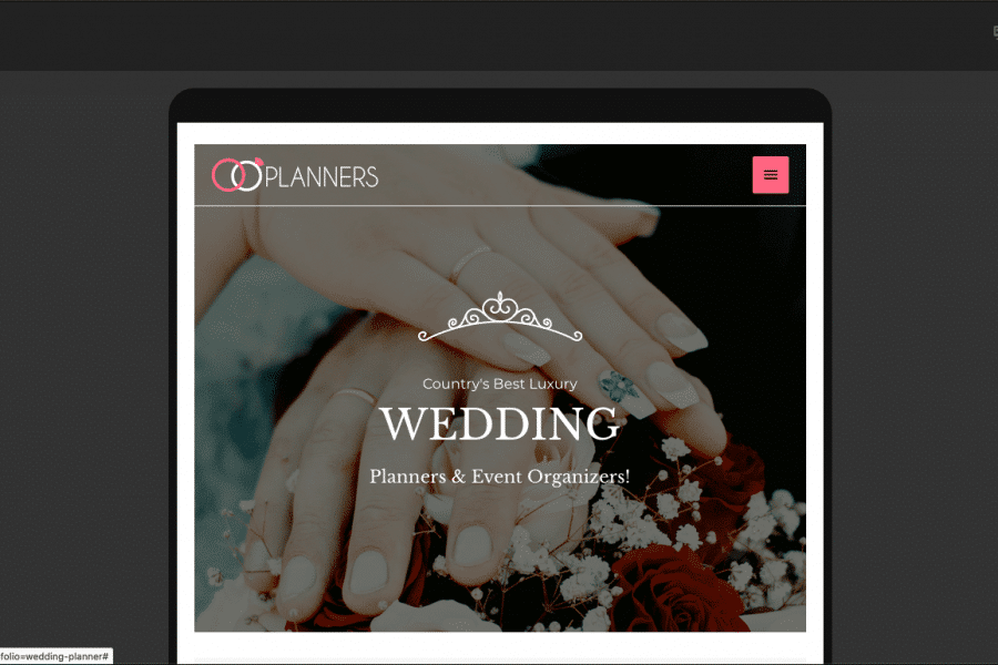 Responsive-Website-Design-The-Wedding-Planner-table-view